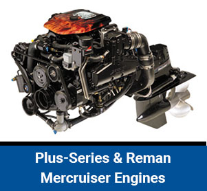 plus-series & reman mercruiser engines