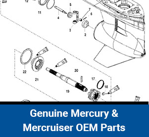 genuine mercury & mercruiser oem parts